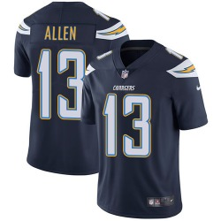 Limited Keenan Allen Men's Los Angeles Chargers Navy Blue Team Color Jersey - Nike