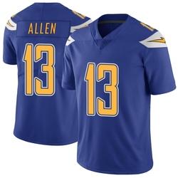 Limited Keenan Allen Men's Los Angeles Chargers Royal Color Rush Vapor Untouchable Jersey