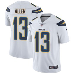 Limited Keenan Allen Men's Los Angeles Chargers White Jersey - Nike