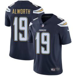 Limited Lance Alworth Men's Los Angeles Chargers Navy Blue Team Color Jersey - Nike