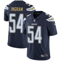 Limited Melvin Ingram Men's Los Angeles Chargers Navy Blue Team Color Jersey - Nike