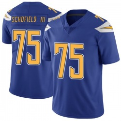 Limited Michael Schofield III Men's Los Angeles Chargers Royal Color Rush Vapor Untouchable Jersey - Nike