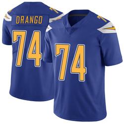 Limited Spencer Drango Men's Los Angeles Chargers Royal Color Rush Vapor Untouchable Jersey - Nike