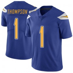 Limited Trevion Thompson Men's Los Angeles Chargers Royal Color Rush Vapor Untouchable Jersey - Nike