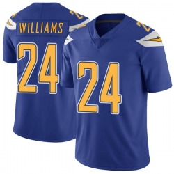 Limited Trevor Williams Youth Los Angeles Chargers Royal Color Rush Vapor Untouchable Jersey - Nike