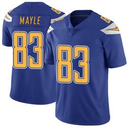 Limited Vince Mayle Men's Los Angeles Chargers Royal Color Rush Vapor Untouchable Jersey - Nike